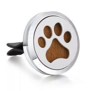 Essential oil car diffuser dog paw print new